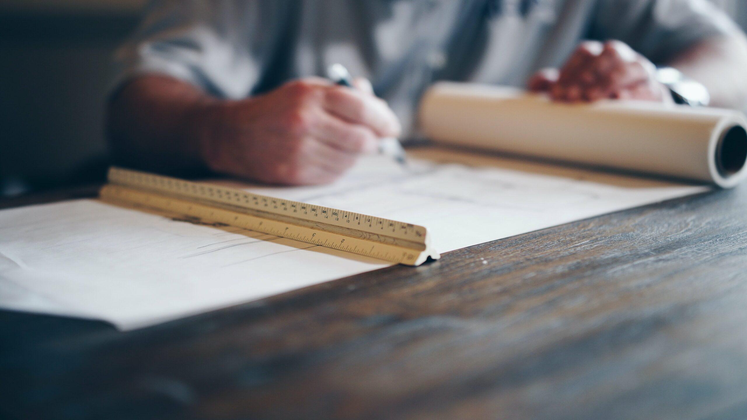 Att jobba som arkitekt kräver sin man eller kvinna